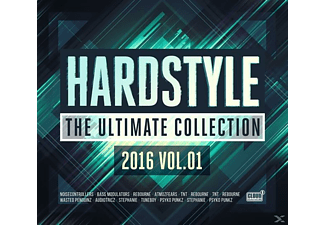 Various - Hardstyle The Ultimate Collection 2016 Vol. 01 | CD