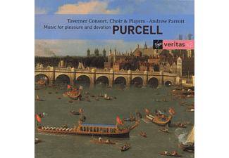 Consort & Players Taverner Choir - Purcell: Music For Pleasure And Devotion - (CD)