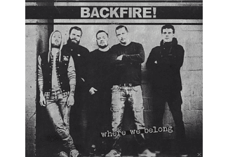 Backfire - Where We Belong [CD]