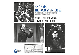 John Barbirolli, Vienna Philharmonic Orchestra - The Four Symphonies (CD)