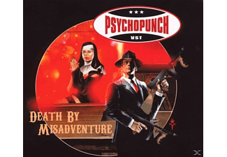 Psychopunch - Death By Misadventure - (CD)