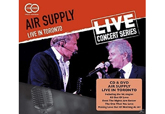 Air Supply - Live In Toronto [CD + DVD Video]