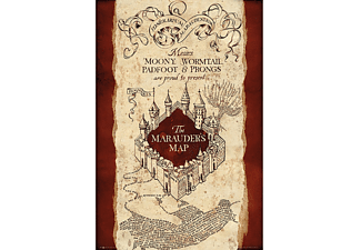 Harry Potter Poster Marauders Map