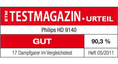 philips dampfgarer hd9140 91 mediamarkt. Black Bedroom Furniture Sets. Home Design Ideas