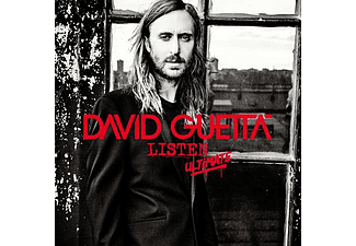 David Guetta - Listen - Ultimate vrs. (CD)