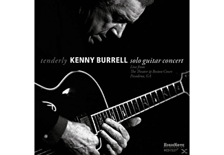 Kenny Burrell - Tenderly Solo Guitar Concert From The Theatre Boston Court - - (CD)