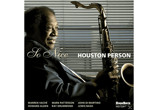 Houston Person - So Nice - (CD)
