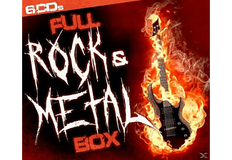 VARIOUS - Full Rock & Metal Box [CD]