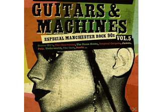 VARIOUS - Guitars And Machines, Vol. 5: Manchester Rock - (CD)