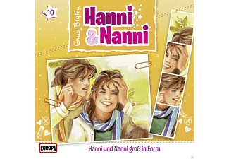 Hanni & Nanni 10: Groß in Form - (CD)