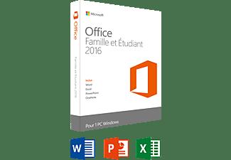 Microsoft sw office famille et etudiant 2016 fr 1 pc office - Office famille et etudiant 2013 1 pc ...