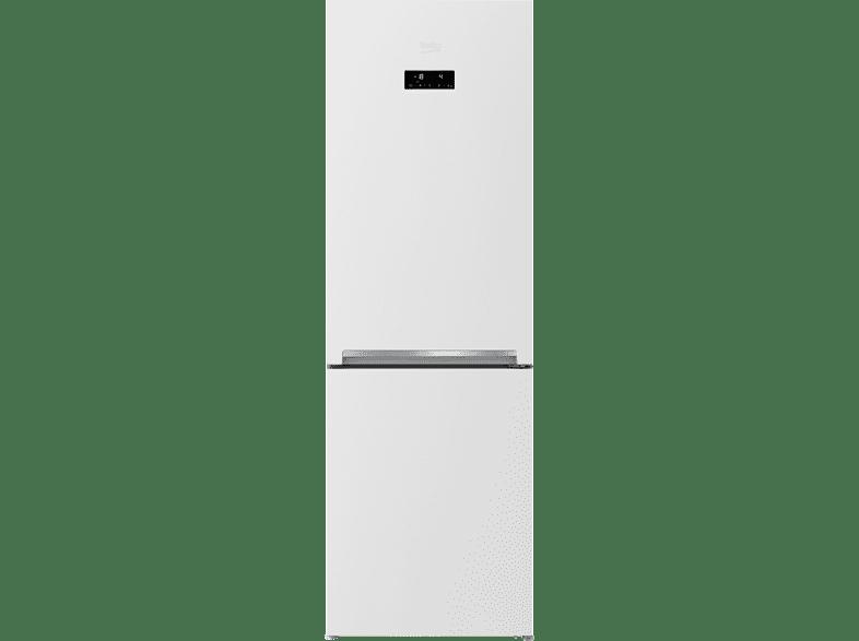 beko kühlgefrierkombination rcne 365 e45w weiß - mediamarkt