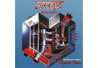 Accept - Metal Heart / Kaizoku-Ban - Live In Japan (CD)
