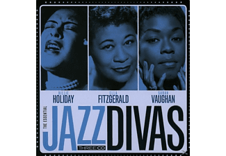 Billie Holiday, Ella Fitzgerald, Sarah Vaughan - Jazz Divas (Lim.Metalbox Edition) [CD]