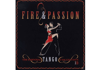 VARIOUS - Fire & Passion-Essential Tango (Limited Metalbox) - (CD)