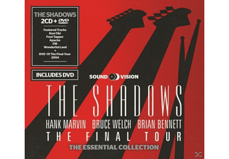 The Shadows - The Final Tour - The Essential Colletction - (CD + DVD Video)