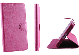 VOLTE-TEL SAMSUNG A510 GALAXY A5 2016 LINE LEATHER-TPU BOOK STAN Pink