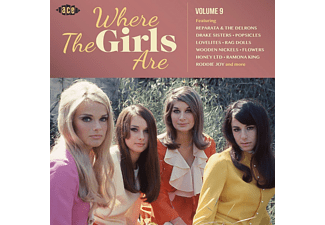 VARIOUS - Where The Girls Are Vol.9 - (CD)