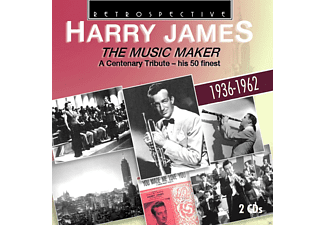 Harry James - The Music Maker - (CD)