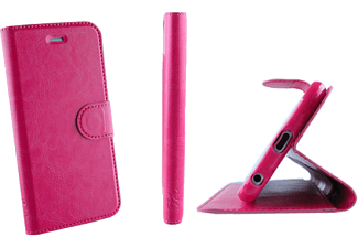 VOLTE-TEL SAMSUNG A300 GALAXY A3  LEATHER-TPU BOOK STAND Pink VL