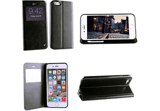 "VOLTE-TEL iPhone 6/6s 4.7"" Leather-TPU View Book Stand Black VL"