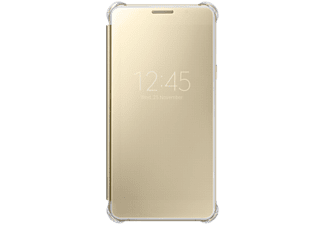 SAMSUNG Galaxy A510 clear view cover tok arany (EF-ZA510CFEG)