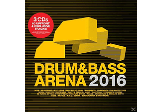 VARIOUS - Drum & Bass Arena 2016 [CD]