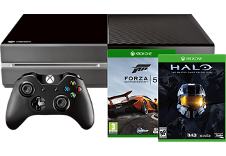 MICROSOFT Xbox One (inkl. Forza 5 och Halo: The Master Chief Collection) - 1 TB