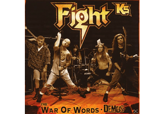 The Fight - The War Of Words Demos (Starring Rob  Halford) - (CD)