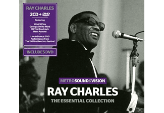 Ray Charles - Essential Collection (2cd+Dvd) [CD]