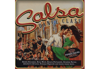 VARIOUS - Salsa Dance Class - (CD)