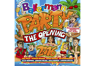 VARIOUS - Ballermann Party - The Opening 2016 - (CD)