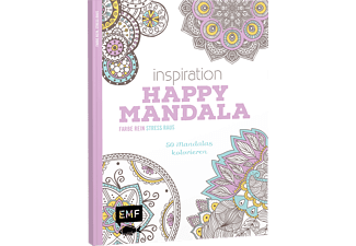 Inspiration Happy Mandala, Malen (Broschur)
