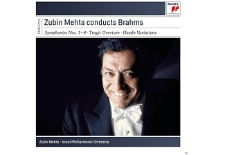 Israel Philharmonic Orchestra - Zubin Mehta Conducts Brahms [CD]