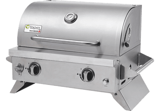 TEPRO 3143 Cleveland Gasgrill Silber