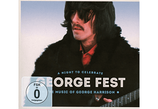 VARIOUS - GEORGE FEST-A NIGHT TO CELEBRATE GEORGE HARRISON - (CD + DVD Video)