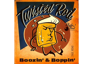 Twisted Rod - Boozin' And Boppin' - (CD)