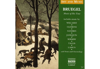 Breugel, VARIOUS - Bruegel-Music Of His Time - (CD)