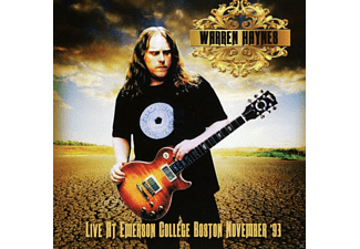 Warren Haynes - Live At Emerson College Boston Nov.93 - (CD)