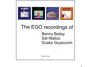 Benny Bailey, Sal Nistico, Goykovich Dusko - The EGO Recordings Of - (CD)
