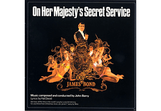 VARIOUS - On Her Majesty's Secret Service [CD]