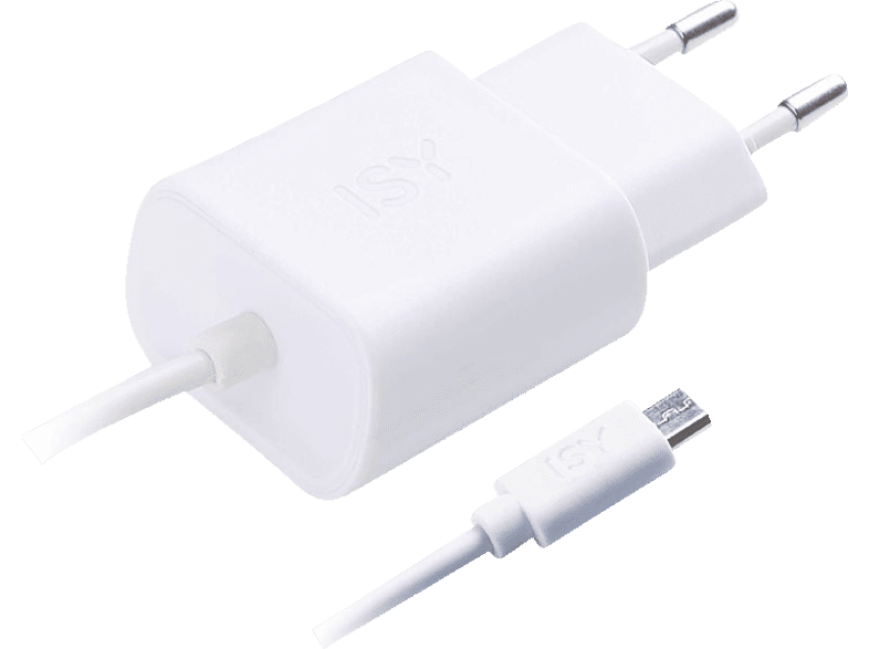 ISY Travel Charger with Micro USB 1.2A White - IWC 3000 WT τηλεφωνία   πλοήγηση   offline αξεσουάρ κινητής smartphones   smartliving αξεσου