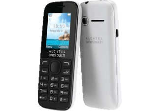 ALCATEL One Touch 1052 Dual Sim White - (1052D)