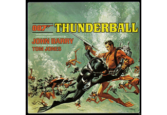 OST/VARIOUS - Thunderball (Remastered) 007-James Bond [CD]