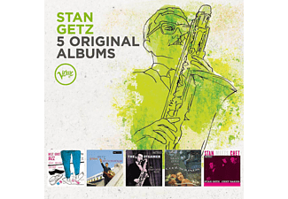 Stan Getz - 5 Original Albums - (CD)