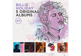 Billie Holiday - 5 Original Albums [CD]