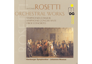 Hamburger Symphoniker - Rosetti: Orchestral Works, Vol. 1 - (CD)