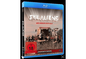 Evil Aliens - (Blu-ray + DVD)