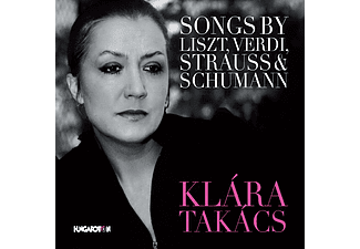 Takács Klára - Songs by Liszt, Verdi, Strauss and Schumann (CD)