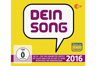 VARIOUS - Dein Song 2016 - (CD + DVD Video)